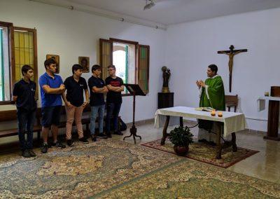 Inicio de Curso del Seminario Menor 1