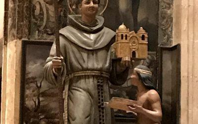 Compartir fraterno con la comunidad franciscana